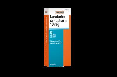Loratadin_ratiopharm_10mg_allergiaoireisiin