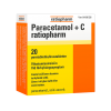 Flunssaan Paracetamol +C ratiopharm poretabletit