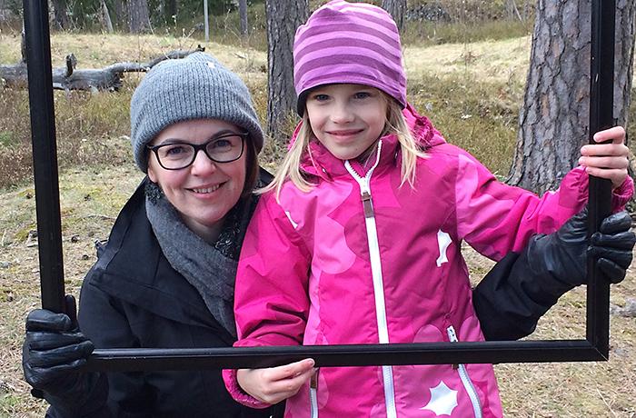 Liisa Rautiala sai Laura-tyttärensä vuonna 2010.