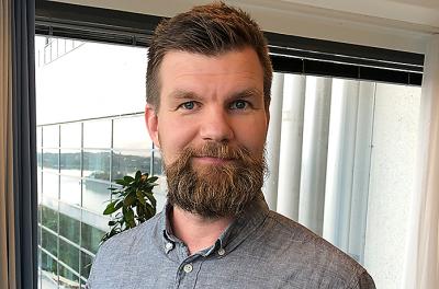 Vastuunalainen johtaja Lasse Rautiainen.