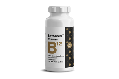 Betolvex Strong 1,25 mg vahva ja monipuolinen B12-vitamiini