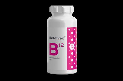 Betolvex 1 mg B12-vitamiini